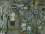 Caught On Cctv Stealing A Pocket Vagina