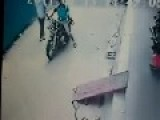 Caught On Camera : Two Men Abduct Little Child