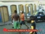 Guy Knocked Out Cold In Fight At Brazilian Carnival