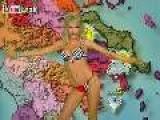 Hot Greek Weather Girl - Petroula Kostidou