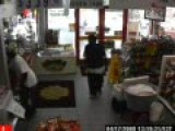 Man Gets Caught Stealing From Gas Station