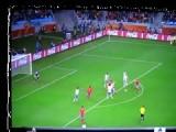 Spanish Villa Offside Goal Spain 1 - 0 Portugal