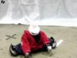 Breakdancing Robot
