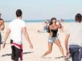SNTV - Alesha Dixon Is Strictly Relaxing In Miami