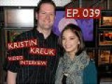 039 - Kristin Kreuk Video Interview