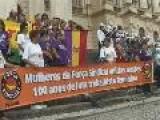 06 03 2009 - For&#231 A Sindical - Mulheres Da For&#231 A PR Participam Da Passeata 100 Anos De Luta, Hist&#243 Rias E Conquistas