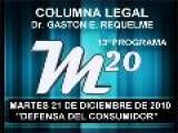 13&#186 Programa Tema: Defensa Del Consumidor - 21 12 2010 - Cablevision