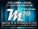 14&#186 Programa: Pirotecnia Ilegal - Alquileres De Verano - 28 12 2010 - Cablevision