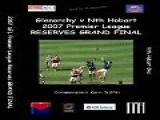 2007 SFL Reserves Grand Final Highlights