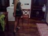 Watch Miniskirt Hot College Girl Dance