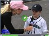 Watch Stacy Fuson Talks To The Mariners Fans. Ichiro, Ichiro, Ichiro, Ichiro