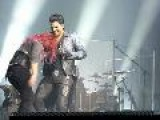 Adam Lambert And Allison Iraheta Clips From Long Island