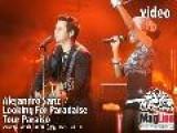 Alejandro Sanz En Vivo Looking For Paradise