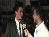 AMA 2009 Red Carpet Interview Adam Lambert