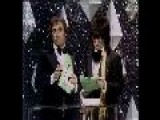 AMA Best Moments 1977 Ron Wood And Keith Moon Present Country Male Vocalist Charlie Pride