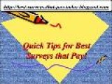 Best Surveys That Pay! In Short Order See Aide Online Pay