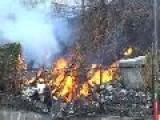 Bomberos Del Dtto. Capital Apagan Incendio En Cano Amarillo