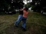 Backyard Boxing - Fight 4