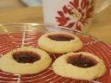 Cookie Jar #14: Raspberry Thumbprint Cookies