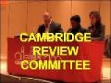 Cambridge Review Committee Part 1 OF 4