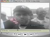 DONZ Crew Spittin&apos Rhymes In A Cypher In Latimer Projects, Queens, NY