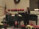 Ding! Dong! Merrily On High Performed By Barbara Hull, Trumpet And Gretchen Hull, Piano