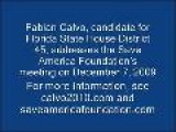 Fabian Calvo Addresses The Save America Foundation