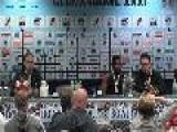 GFL-TV: Mitschnitt Der German Bowl XXXI Pressekonferenz