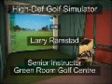 High-Definition Golf Simulator