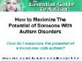 How To Improve The Life Of Someone With Autism Disorders