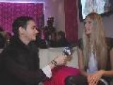 Julia Stegner Interview - Mercedes Benz Fashion Week New York Fall 2009