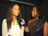 JOY BRYANT At MATTHEW WILLIAMSON Backstage - Mercedes Benz Fashion Week New York Fall 2009