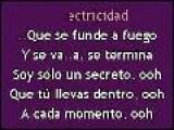 Karaoke Alejandra Guzman - Soy Solo Un Secreto KK: Www.descargar-karaoke.com