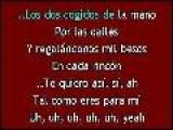 Karaoke Alejandro Sanz - Los Dos Cogidos De La Mano KK: Www.descargar-karaoke.com