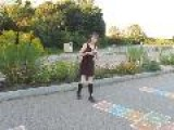 Long Distance Skipping + Jump Rope Hopscotch