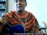 Live African Guitar Player