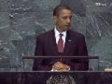 Obama Addresses United Nations For First Time-Full Video