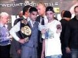 Paulie Malignaggi Talks Amir Khan May 2010