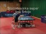 Reportaza, Stonoteniske Mec, Stenes - Banat