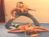 Super Action Fight Productions Keri Vs Bella Punching Bag 2