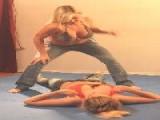 Super Action Fight Productions Keri Vs Bella Punching Bag 2