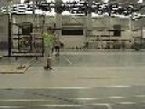 Stand Throw Power Throw - Coaching High School Shot Put