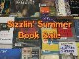 Sizzlin&#8217 Summer Booksale June 9 Through 12 At Metcalf South Shopping Center