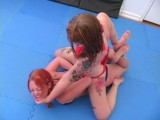 Super Action Fight Productions BETTIE Versus CARRIE Match 1