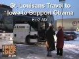 St. Louisans Travel To Iowa For Barack Obama