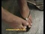 Turkish Girl G&#252 Lcan-Foot Petting By Footcapper