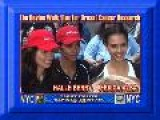 The Revlon Walk Run For Breast Cancer Research Jessica Alba & HAlle Berry