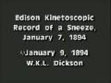Thomas Alba Edison - Fred Ott&apos S Sneeze