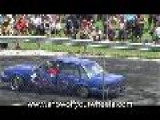 VK Commodore Burnout - Kandos Street Machine And Hotrod Show 2009