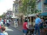 Walking Down Main Street Disneyland